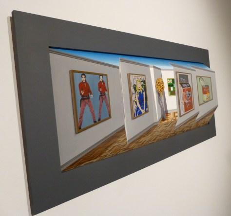 Pop Art Gallery Perspective
