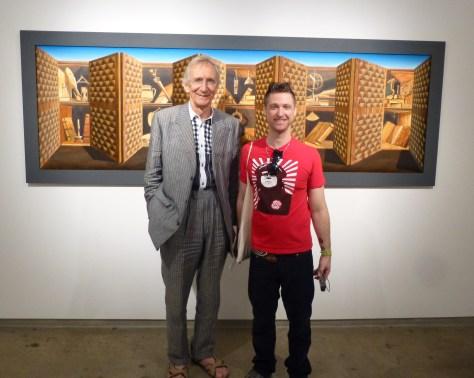 Patrick Hughes and Geoffrey