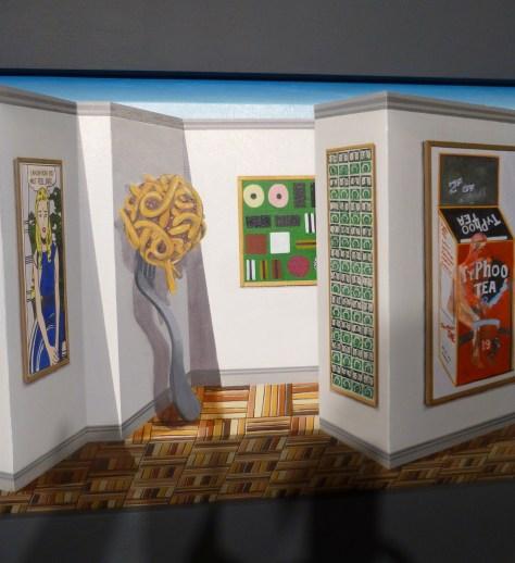 Pop Art Gallery Close Up