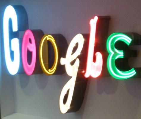 Neon Google Doodle