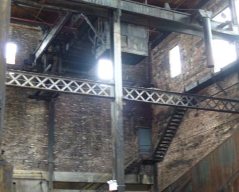 Abandoned Factory Interior Shot