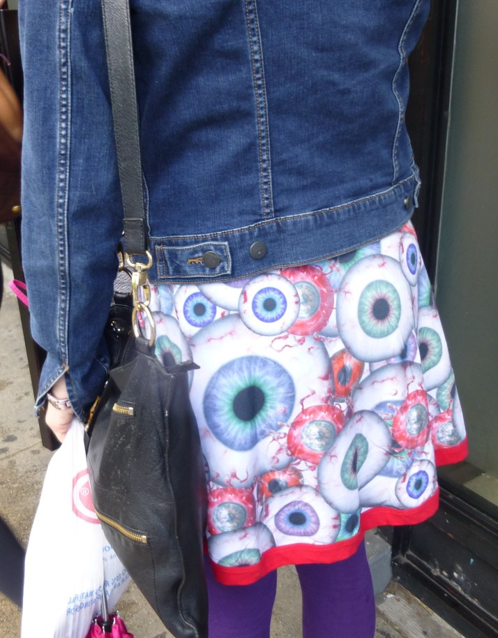 Eyeball Skirt Close Up