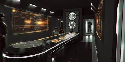 Avengers Control Room Stock