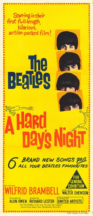 Hard Days Night Movie Poster