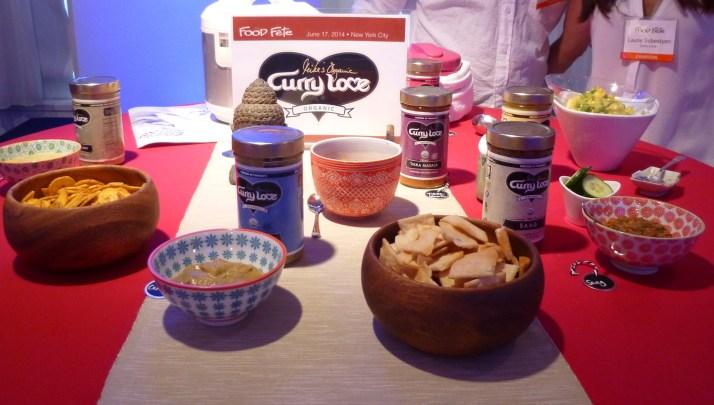 Mike's Organic Curry Love Display