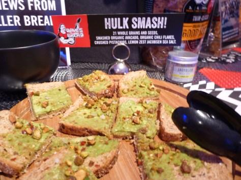 Dave's Bread Hulk Smash