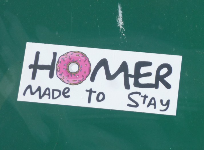 Homer Made to Stay