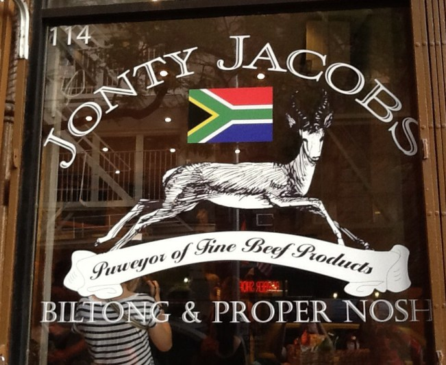 Jonty Jacobs Store Front