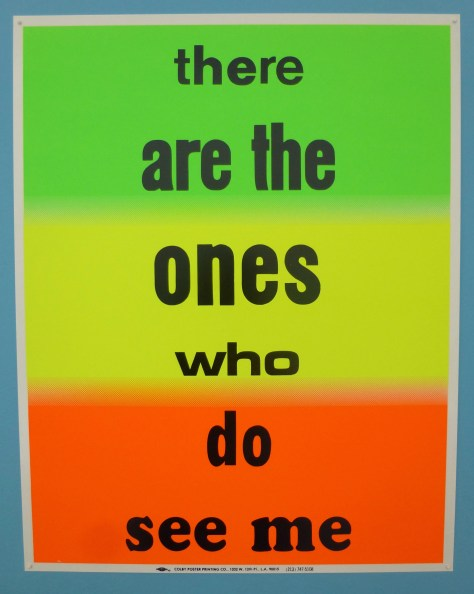 There are the ones who do see me
