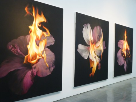 Nir Hod Once Everything Triptych