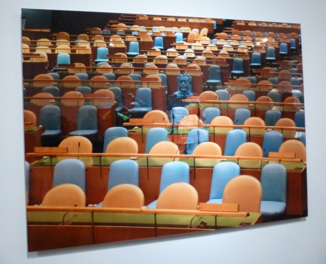 Orange and Blue Auditorium