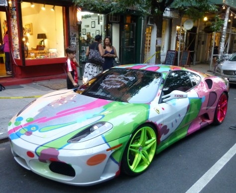 Ferrari Art Car By John Matos