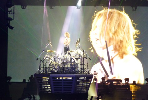 Yoshiki on Drums