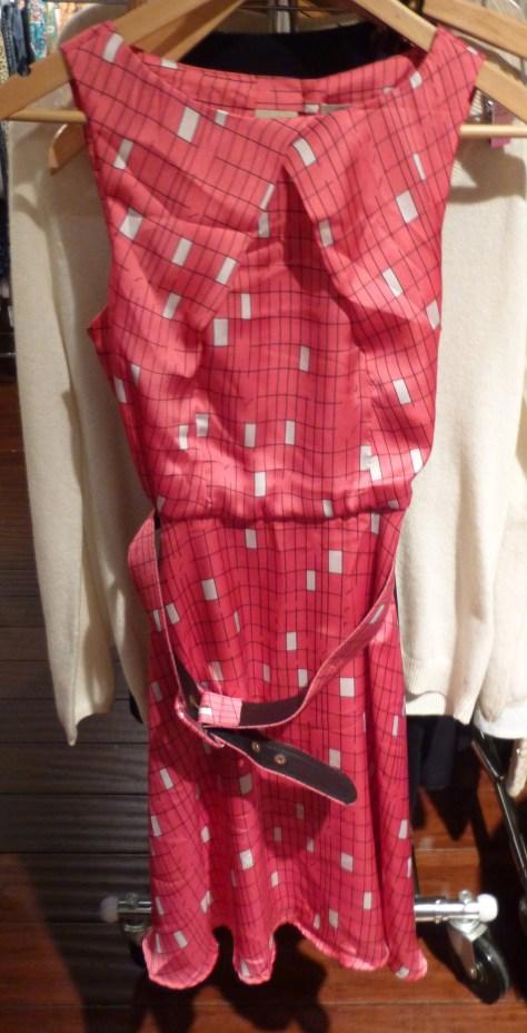 Short Pink Silk Dress By Darling