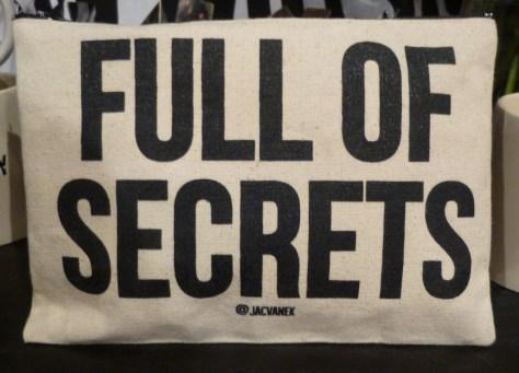 Full of Secrets Zip Bag By Jac Vanek