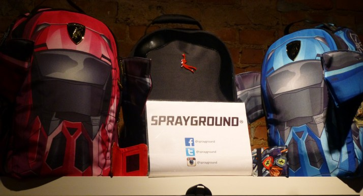Sprayground Backpacks Social Media