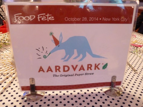 Aardvark Straw Signage