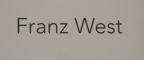 Franz West Signage