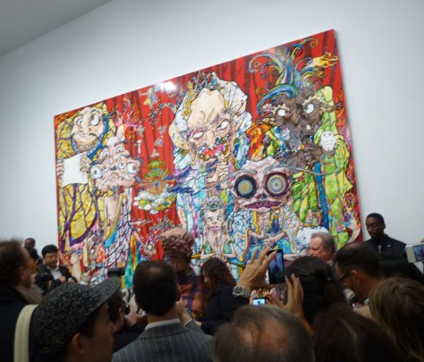 Murakami in the Crowd