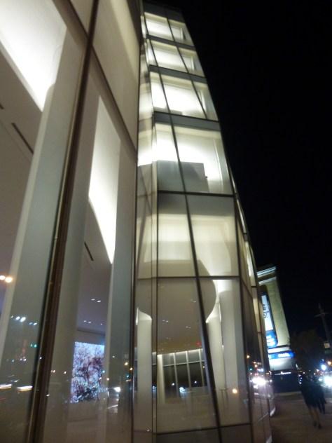 IAC Building Facade Detail