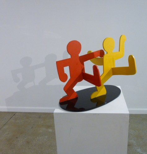 Keith Haring Untitled (Two Dancing Figures) ,