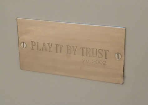 Play It By Trust