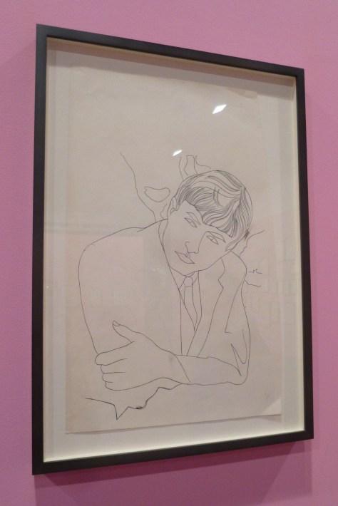 Warhol Male Portrait