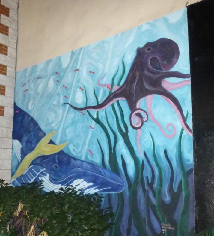 Octopus Mural