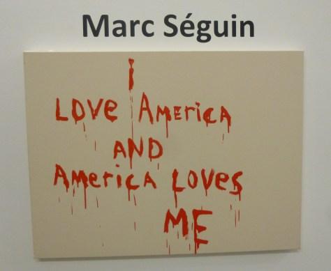 Marc Seguin Signage