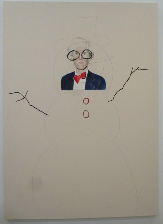 Andy Warhol Snowman