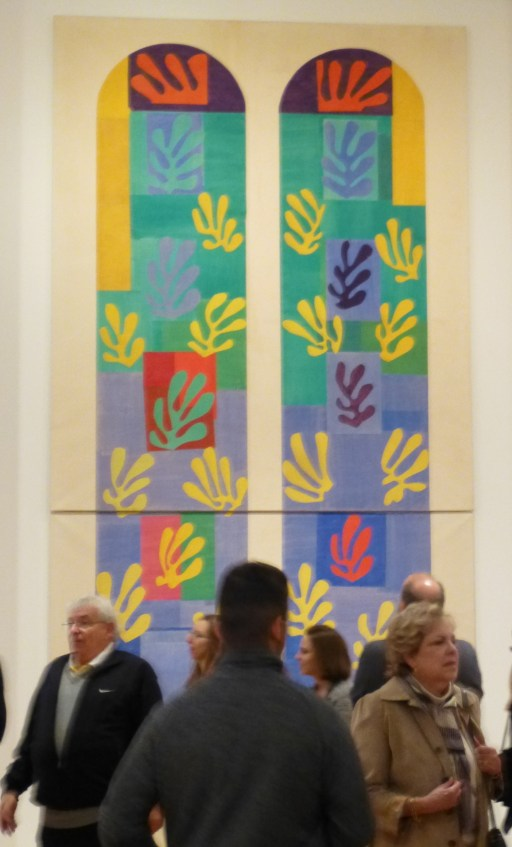 Matisse The Cut Outs Stained Glass Mock Up