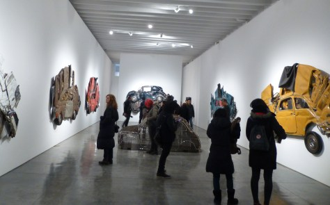 Ron Arad In Reverse Installation View