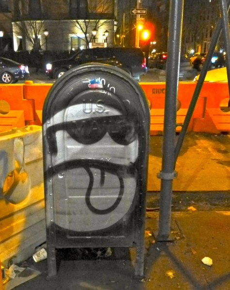 Graffiti Mail Box