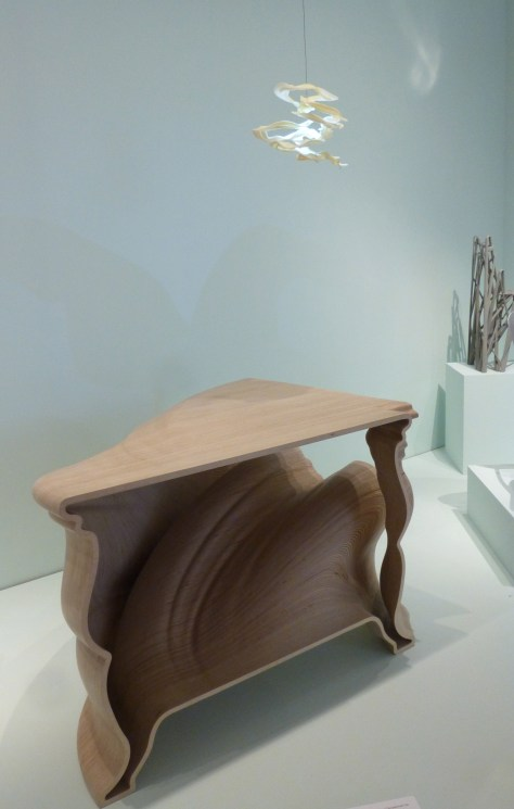 Cinderella Table and Attracted to Light Lamp