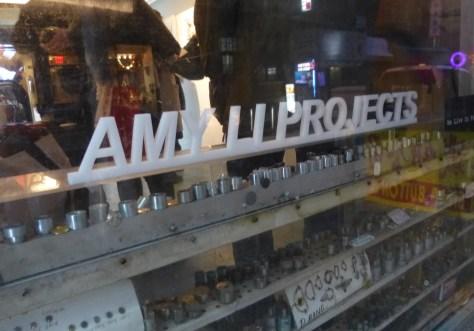 Amy Li Projects Signage