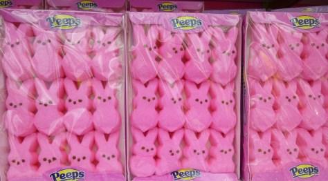 Pink Easter Bunny Peeps