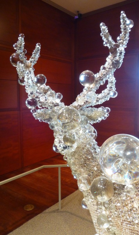 Glass Bambi Head