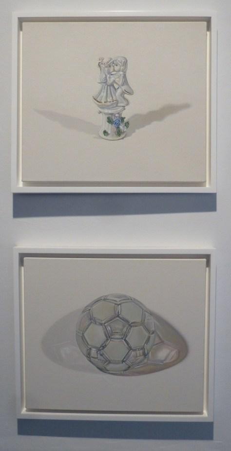 Figurine and Mirror Ball