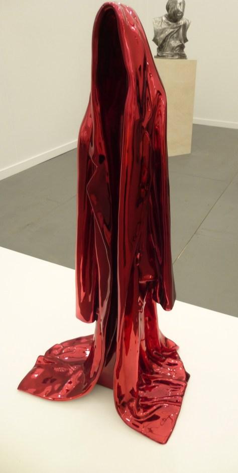 Red Draped Coat 2
