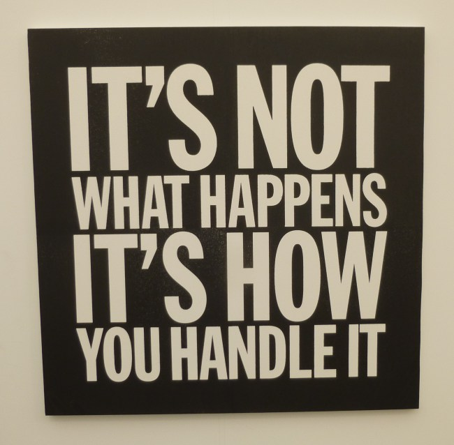 John Giorno It's Not What Happens It's How You Handle It
