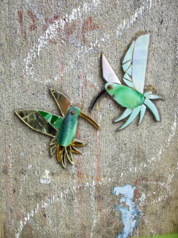Tile Hummingbirds