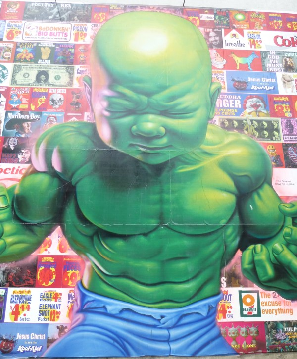 Hulk Baby Close Up
