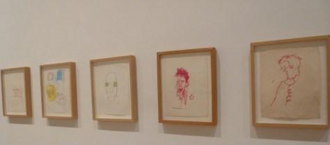 Untitled Crayon Drawings 1981