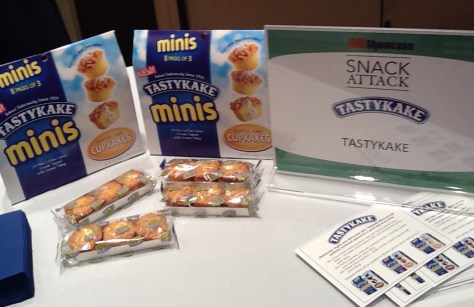 TastyKake Signage and Product