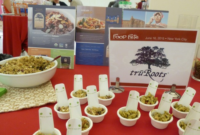 tryRoots Quinoa and Pasta Booth