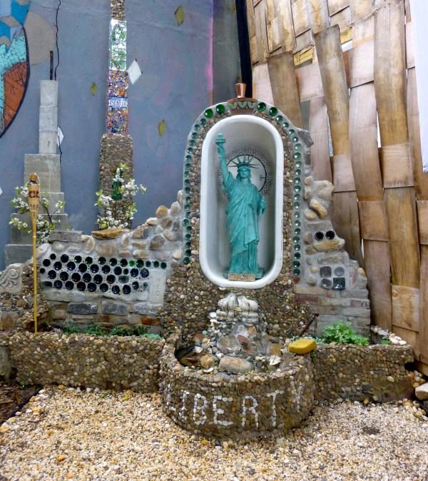 Backyard Shrine