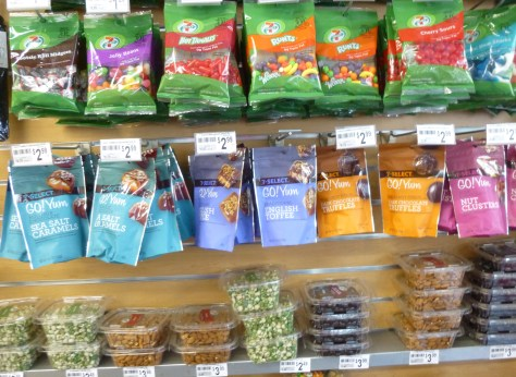 7 Eleven Store Snack Display