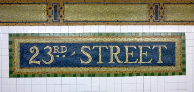 23rd Street Signage
