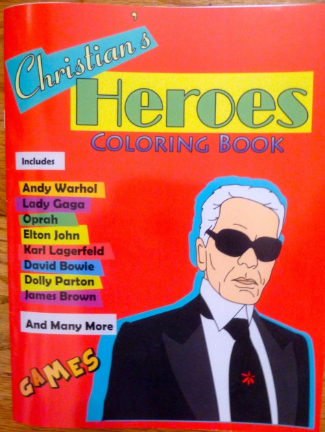 Christian's Heroes Coloring Book Cover