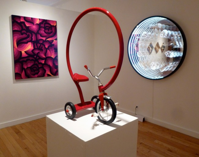 Installation View with Bike